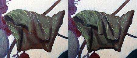 Crumpled Vine Leaf