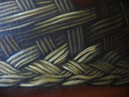Wicker Basket - Details