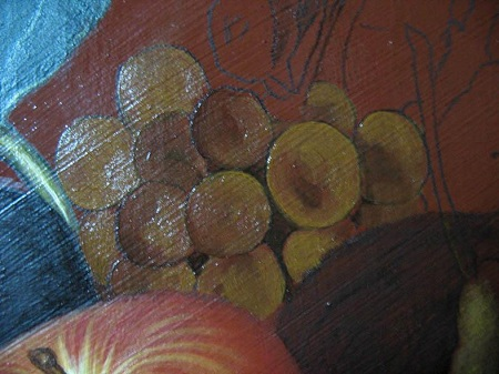 Raisins Underpainting