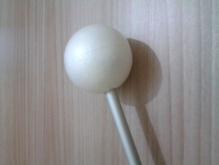 Mahl Stick - Glued stick and sphere
