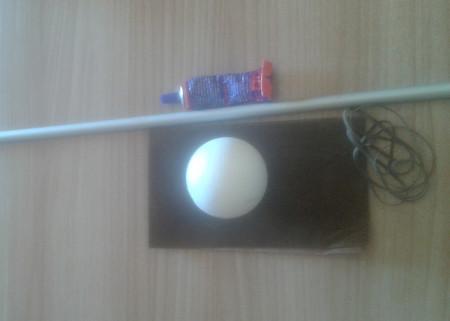 Mahl Stick - Materials