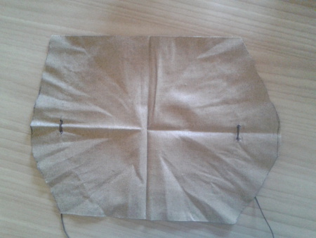 Mahl Stick - Trimming cloth