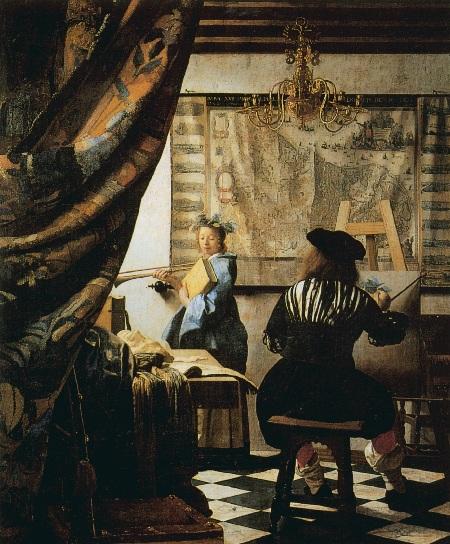 Mahl Stick - Vermeer