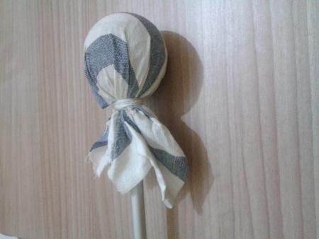 Mahl Stick - Wrap rag